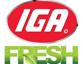 #163 cho Logo Design for IGA Fresh bởi shanemathews33