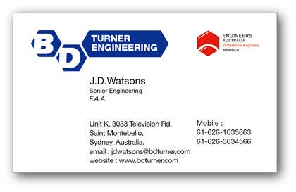 #19 for Design a Logo and business card for an Electrical Engineer by davidliyung