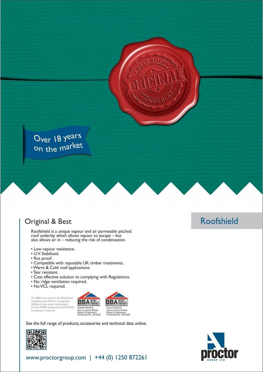 Bài tham dự cuộc thi #                                        48                                      cho                                         Design an Advertisement for Roofshield 2