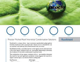 #43 untuk Design an Advertisement for Roofshield 2 oleh echobravo