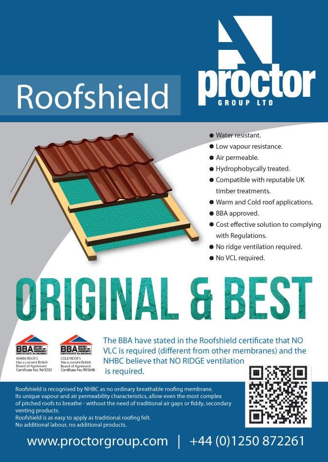 Bài tham dự cuộc thi #                                        61                                      cho                                         Design an Advertisement for Roofshield 2
