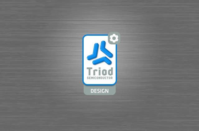 Kilpailutyö #342 kilpailussa Logo Design for Triad Semiconductor