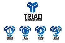 Graphic Design Kilpailutyö #245 kilpailuun Logo Design for Triad Semiconductor