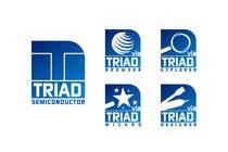 Graphic Design Kilpailutyö #246 kilpailuun Logo Design for Triad Semiconductor