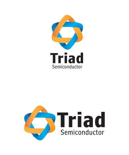 Kilpailutyö #345 kilpailussa Logo Design for Triad Semiconductor