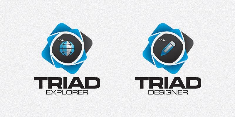 Kilpailutyö #160 kilpailussa Logo Design for Triad Semiconductor