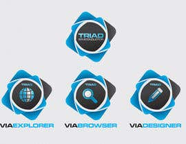 #221 para Logo Design for Triad Semiconductor por ezmode