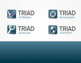 #376 para Logo Design for Triad Semiconductor por makovski