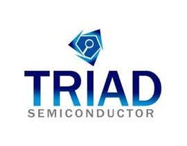 #341 para Logo Design for Triad Semiconductor por vlogo