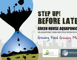 #7 para Business Poster for Green House Aquaponics por bprashant83
