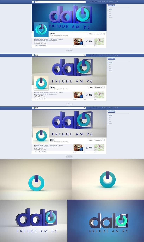Inscrição nº 101 do Concurso para Design enhancement in 3D for DALO logo