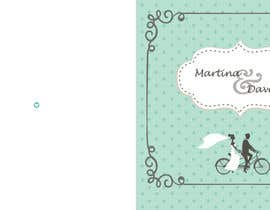 #3 untuk Design von Drucksorten for Wedding Invitation Cards oleh elenigv