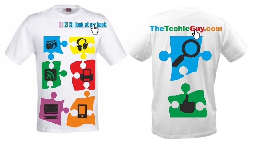 Inscrição nº                                         72                                      do Concurso para                                         T-shirt Design for TheTechieGuy.com