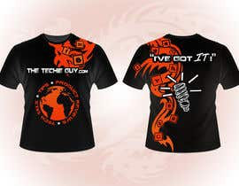 #12 для T-shirt Design for TheTechieGuy.com от Baddestboots