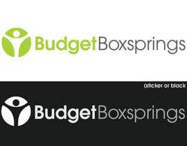 #52 for Ontwerp een Logo for Budget Boxsprings af KiVii