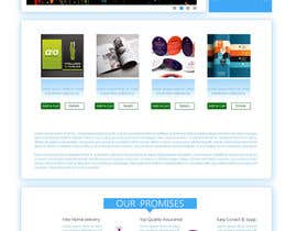 #19 for Homepage & Product Page Design & Logo Required af king5isher