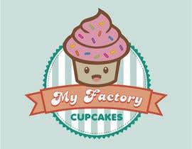 nº 18 pour Cupcake logo design par MaryorieR