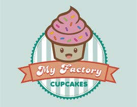 #18 for Cupcake logo design by MaryorieR