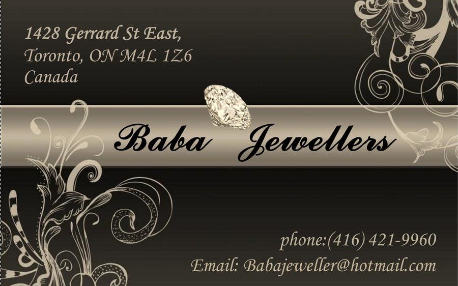 Entry 13 by borontiscatalin for design some business cards for contest entry 13 for design some business cards for jewelry store reheart Gallery