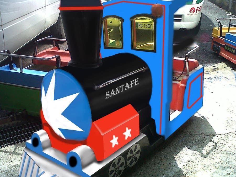 Bài tham dự cuộc thi #20 cho Kiddie Train Ride new Graphic Design