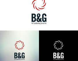 #38 untuk Design a Logo for B&G Air Conditioning Service Inc oleh ccakir