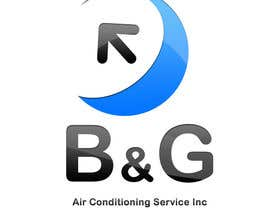 #72 cho Design a Logo for B&G Air Conditioning Service Inc bởi VEEGRAPHICS