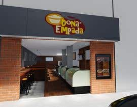 #7 para Restyle Coffe Shop with new front entrance design, Counter and Cashier. -- 2 por msacarch