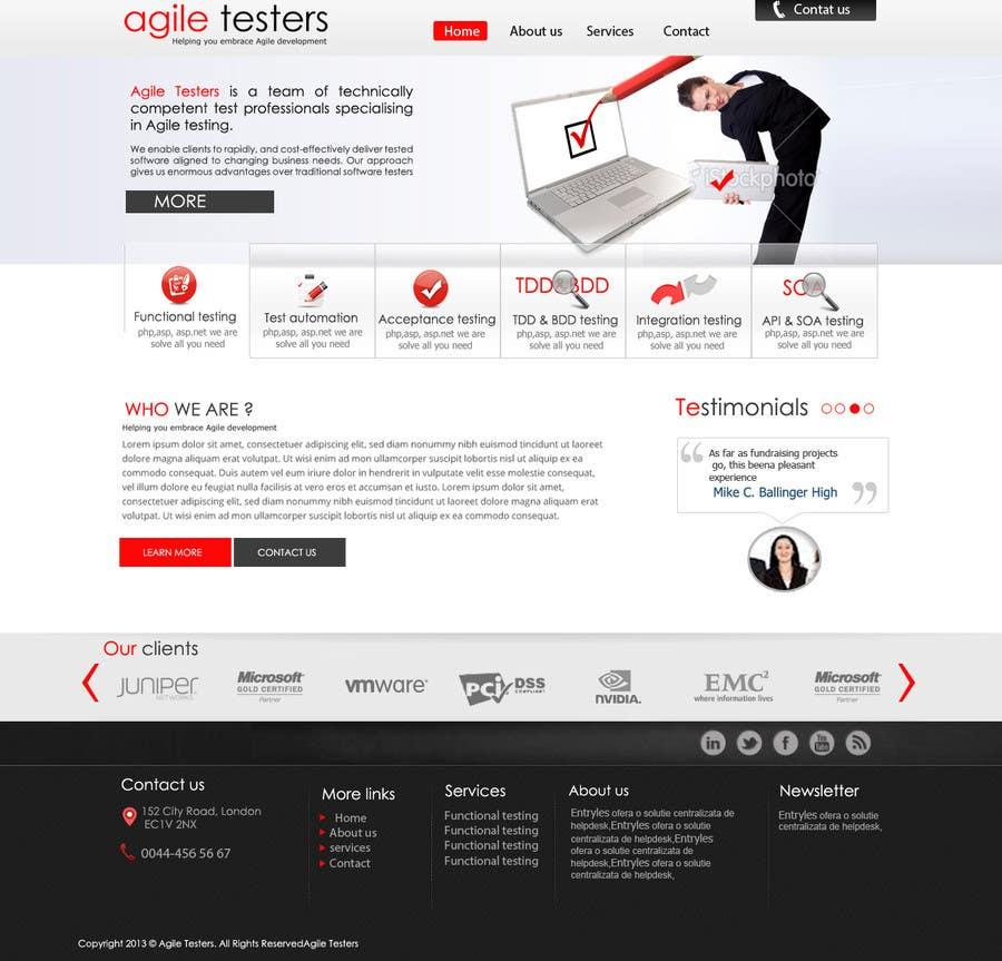 Inscrição nº 32 do Concurso para Redesign our company website