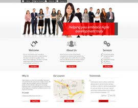 nº 9 pour Redesign our company website par grafixeu