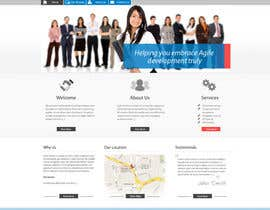 nº 23 pour Redesign our company website par grafixeu