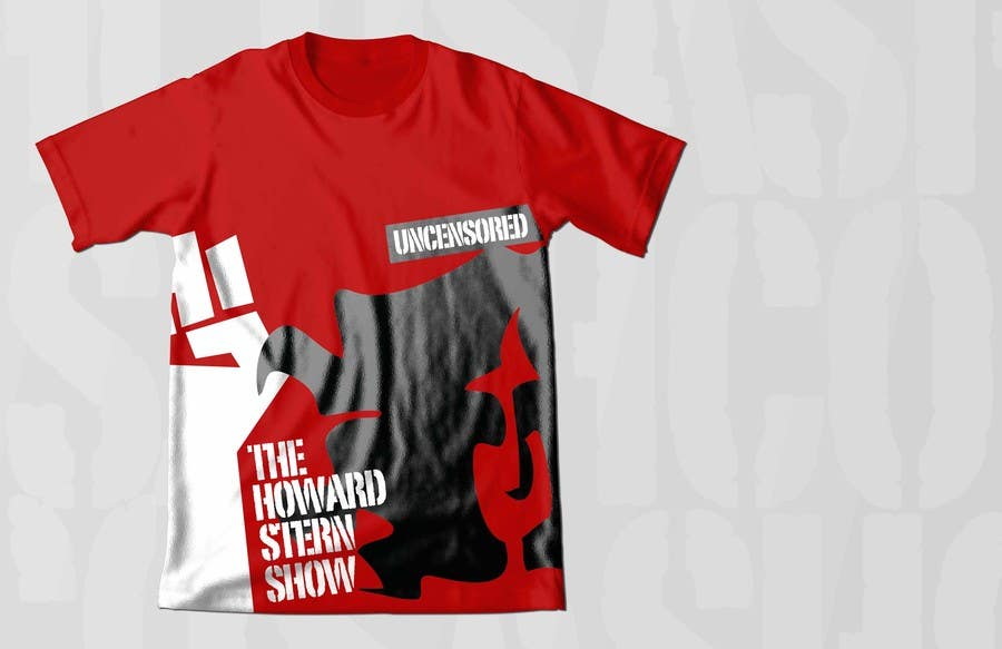 Proposition n°48 du concours Design a T-Shirt for The Howard Stern Show