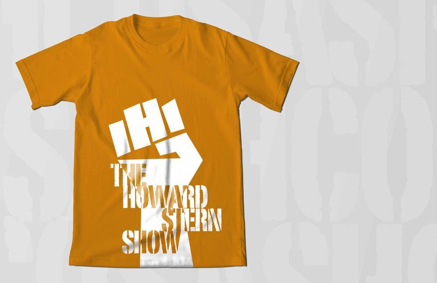 Proposition n°58 du concours Design a T-Shirt for The Howard Stern Show