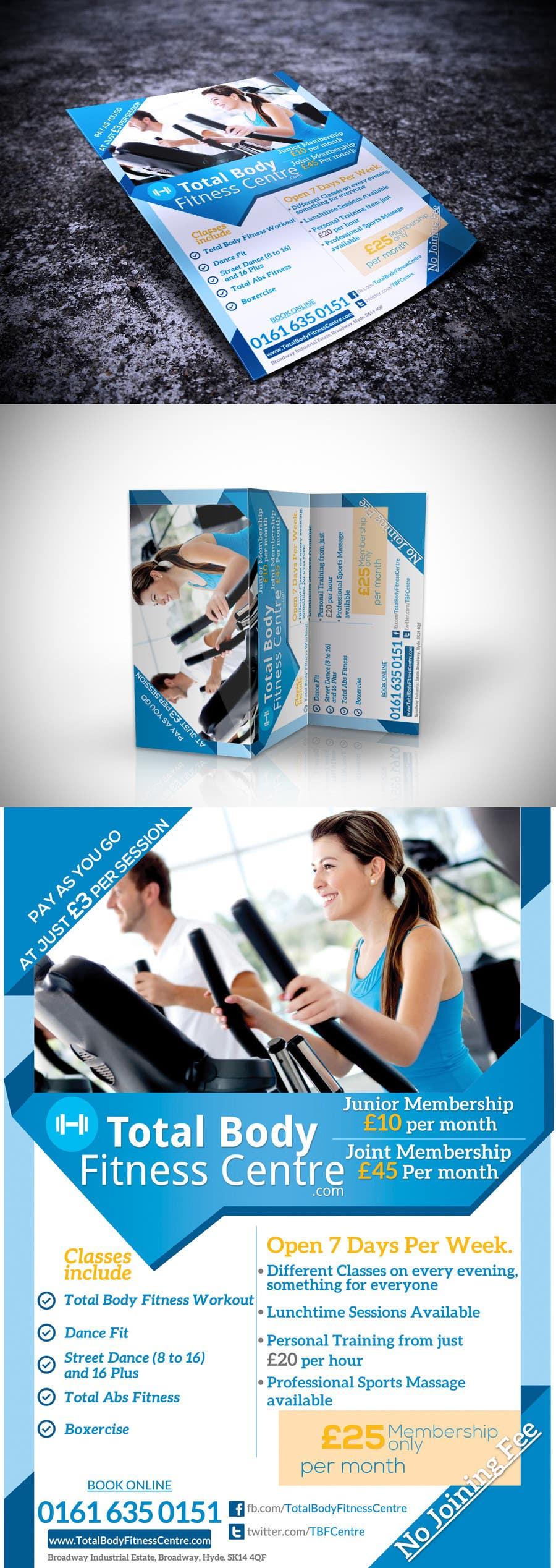 Bài tham dự cuộc thi #                                        5                                      cho                                         Design a Flyer for Health Gym / Sports Gym