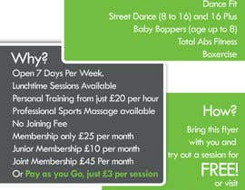 #10 for Design a Flyer for Health Gym / Sports Gym af RizlanHassan