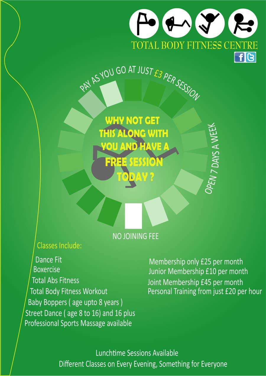 Bài tham dự cuộc thi #                                        8                                      cho                                         Design a Flyer for Health Gym / Sports Gym