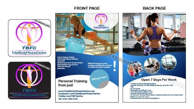 Bài tham dự cuộc thi #                                        7                                      cho                                         Design a Flyer for Health Gym / Sports Gym