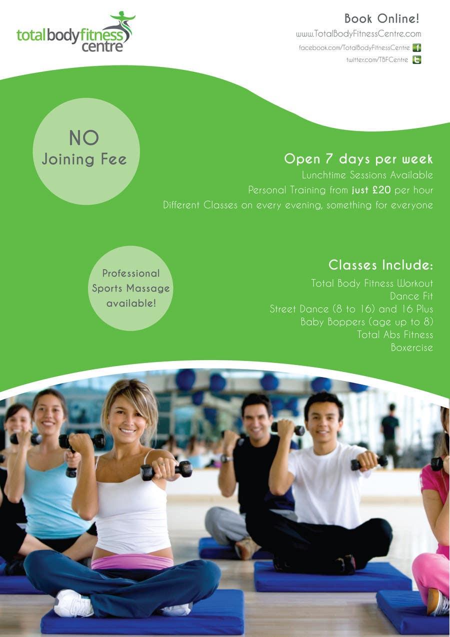 Bài tham dự cuộc thi #                                        11                                      cho                                         Design a Flyer for Health Gym / Sports Gym