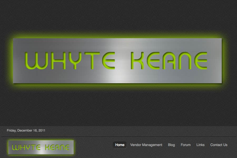 Penyertaan Peraduan #483 untuk Logo Design for Whyte Keane Pty Ltd