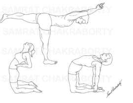 #5 for Illustrations required for Weight Training Exercises in eBook by samrat66