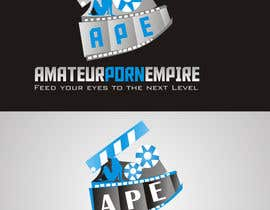 #95 untuk Design a Logo for amateurpornempire adult website oleh MagicalDesigner