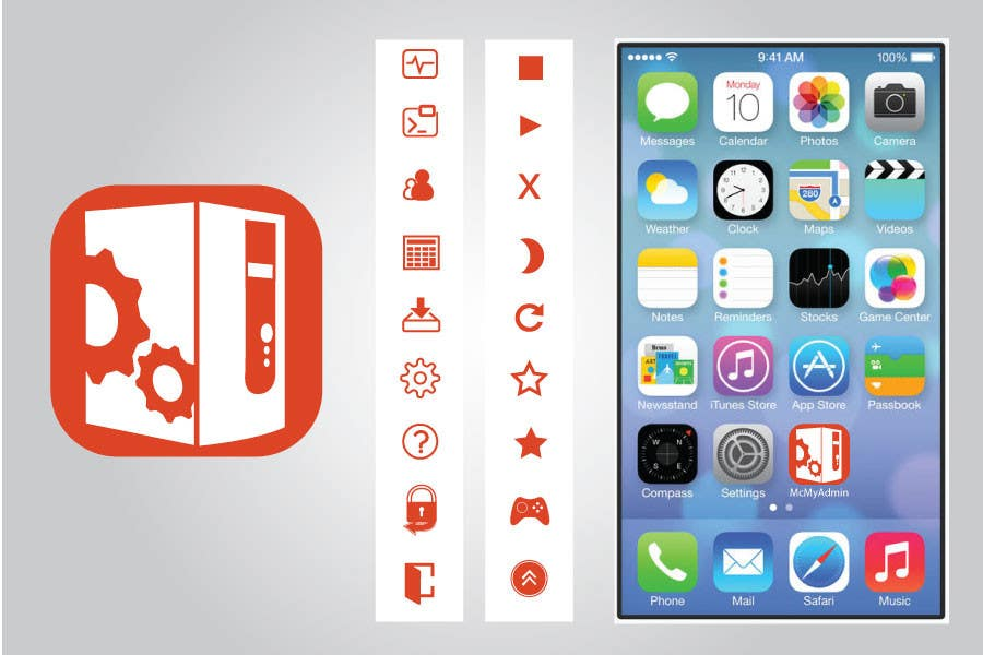 Bài tham dự cuộc thi #                                        29                                      cho                                         (Re-)Design icons of iOS app for usage iOS 7