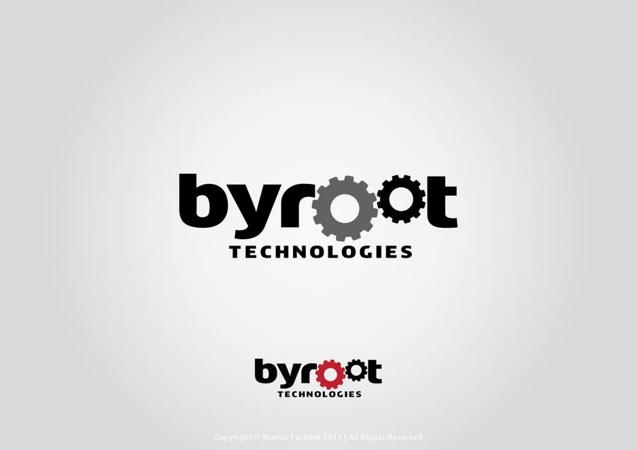 #74 for Develop a Corporate Identity for byroot Technologies by mariusfechete