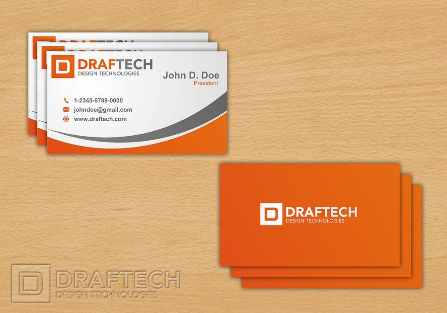 #464 for Design a Logo for Draftech by blueprint1101