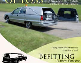 #38 untuk Design a  logo, business card and a flyer for  Hearse Rental Business oleh Simone97