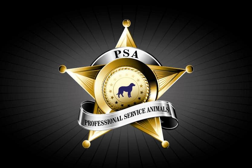 Bài tham dự cuộc thi #                                        14                                      cho                                         Design a Logo for PSA (Professional Service Animals)