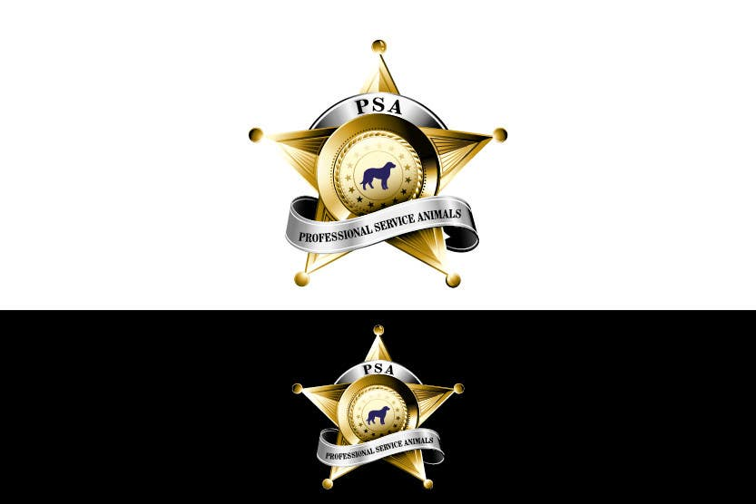 Bài tham dự cuộc thi #                                        23                                      cho                                         Design a Logo for PSA (Professional Service Animals)