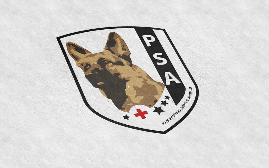 Bài tham dự cuộc thi #                                        33                                      cho                                         Design a Logo for PSA (Professional Service Animals)