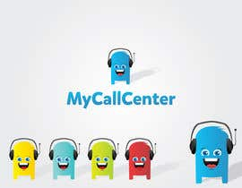 #32 para Design a Logo for mycallcenter por nomanprasla