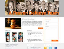#4 para Front page for legal website por Pravin656
