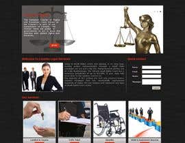 #2 para Front page for legal website por sharmaadeepak